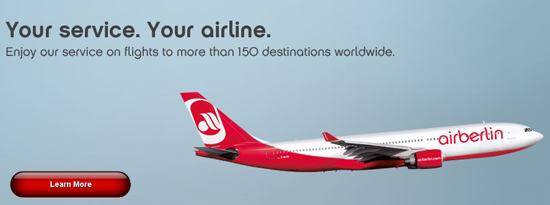 Air Berlin - Third largest budget airline in Europe