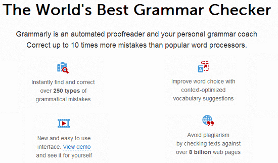 Grammarly - Instant grammar checker, plagiarism checker, online proofreader