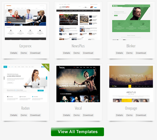 JoomShaper - Joomla templates and Joomla extensions