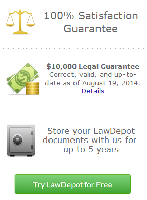 Lawdepot.com - Easy legal forms for wills leases and more