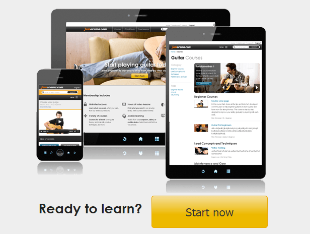 Jamorama.com - Video guitar lessons online