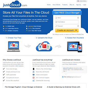 JustCloud.com Review