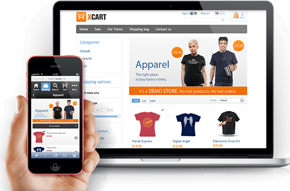 X-Cart - PHP shopping cart software for eCommerce websites