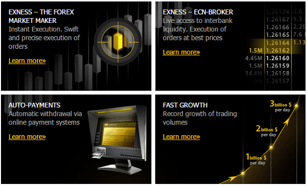 Exness.com - Reliable online trading on the forex market