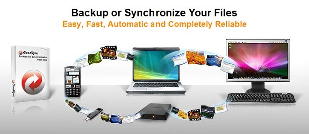 GoodSync.com - File sync and backup software