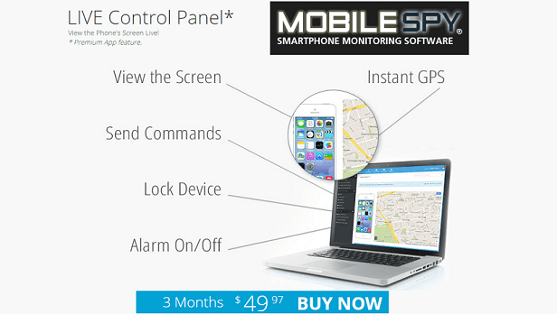 MobilySpy - Smartphone monitoring software for iPhone, android, windows mobile and blackberry cell phone tracking