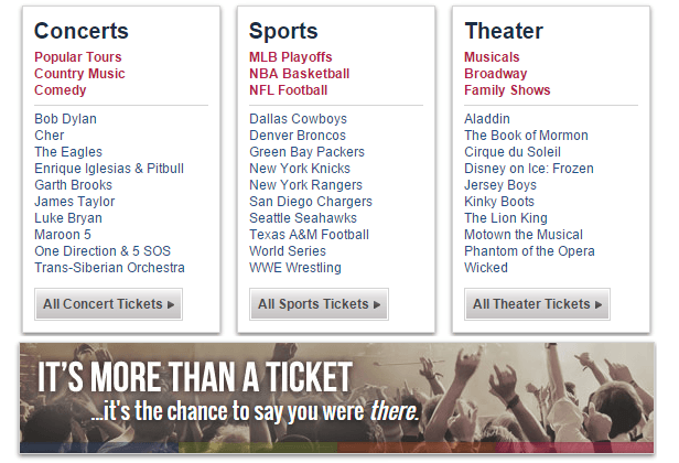 TicketLiquadator.com - Buy Concert tickets, theater tickets and sports ticket online