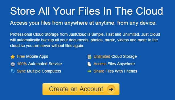 CloudStorage - Free online storage and cloud storage