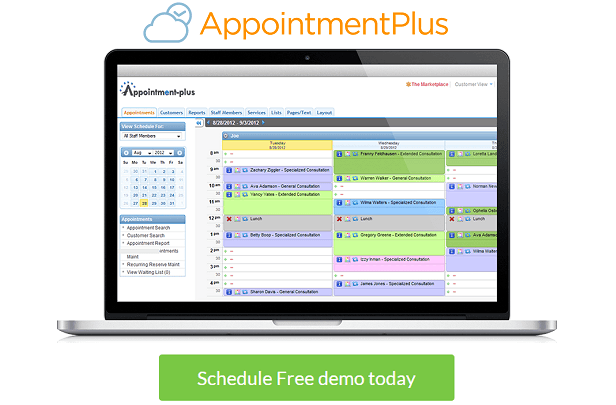Appointment-plus.com - appointment scheduling software