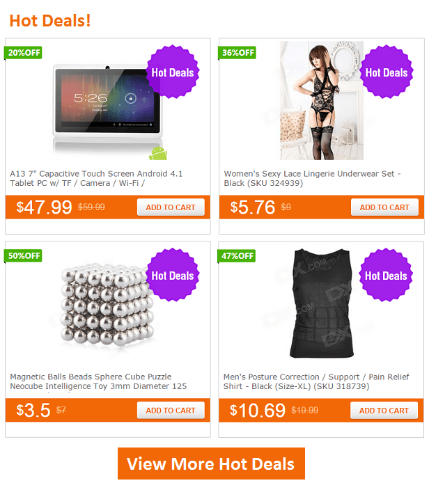 DealXtreme.com - Cool gadgets at the right price with free shipping worldwide