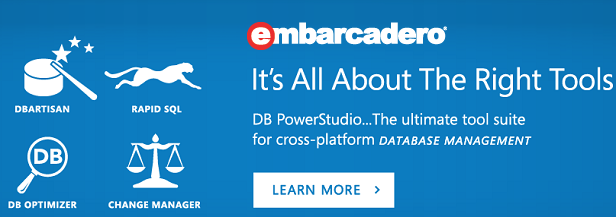 Embarcadero Technologies, Database tools and developer software