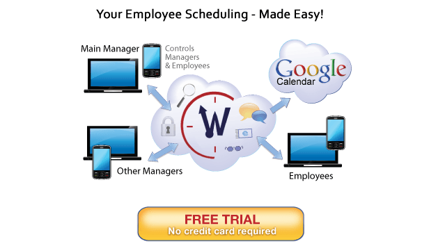 WhentoWork.com - Employee scheduing software and online employee sheduling program