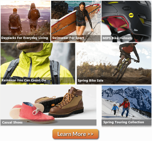 BackCountry.com - Online retailer site for outdoor gear, clothing, ski, snowboarding equipment and more