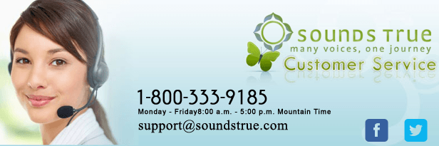 SoundsTrue.com - online seller of books, CDs, DVDs, and online  spiritual courses