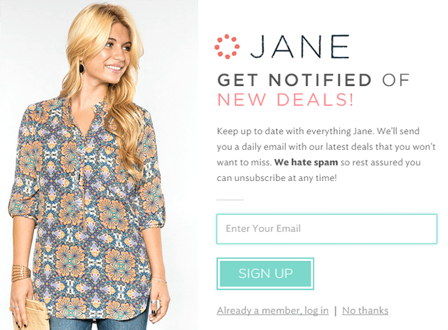 Jane.com - Online clothing store & boutique deals for women