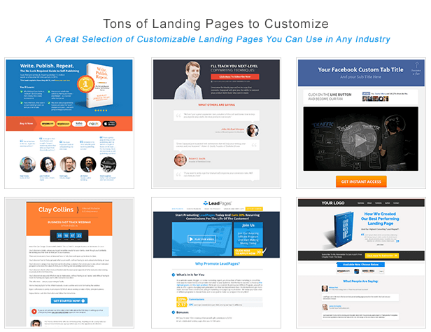 LeadPages.net - Mobile responsive landing page generator