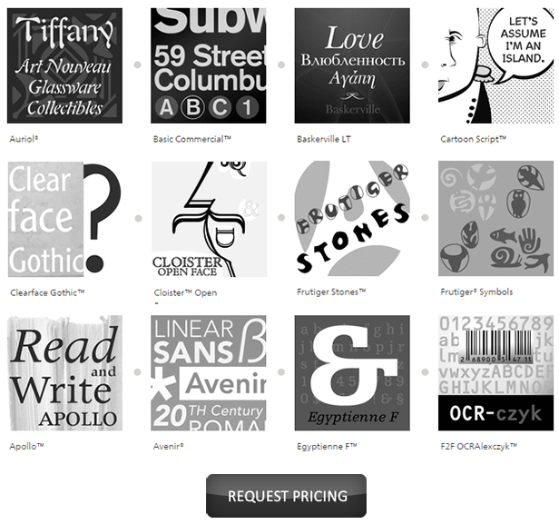 LinoType.com - Fonts for web, desktop, mobile phones and more