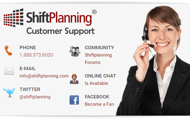 ShiftPlanning.com - Online Employee Management software and Workforce Management Software