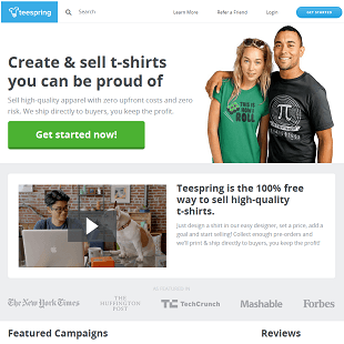 TeeSpring.com Review