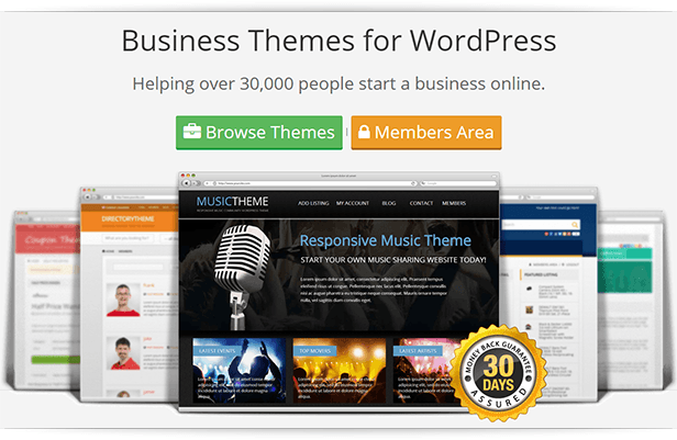 PremiumPress - Resposive Business Themes for WordPress