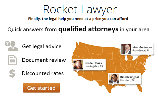 RocketLawyer.com - Affordable online legal services, legal advice and legal documents