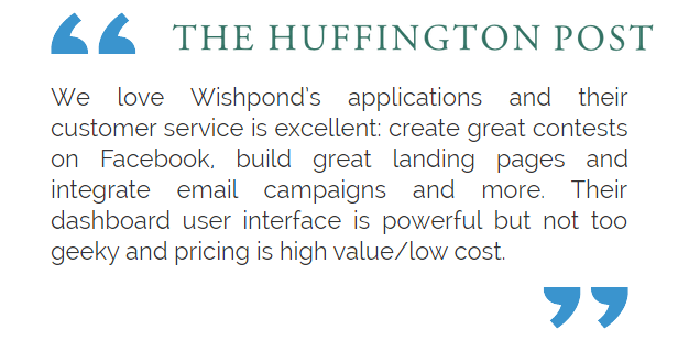 WishPond - Simple Marketing Software