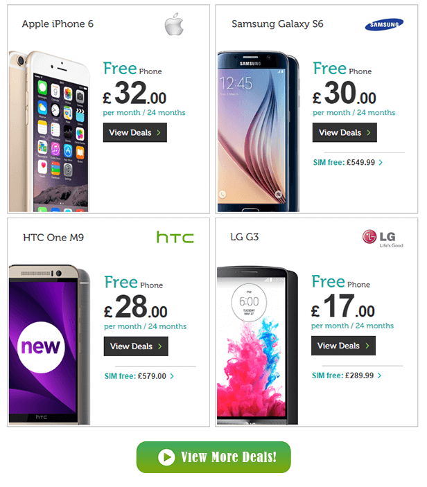 Mobile Phones Direct - UK's best mobile phones deals