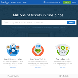 SeatGeek.com Review