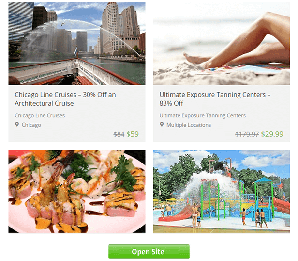 Groupon.com - Online site for deals and coupons for restaurants, fitness, travel, shopping and more