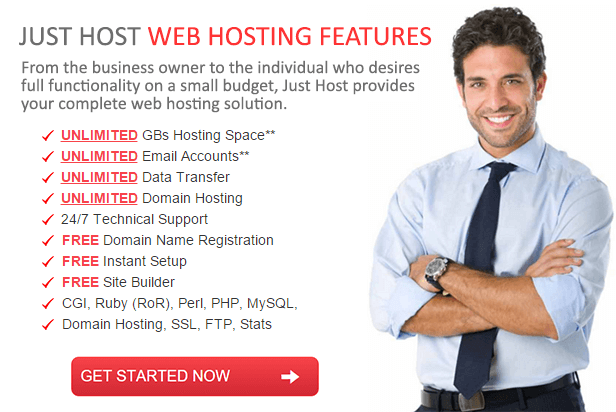 Just Host - Professional web hosting services