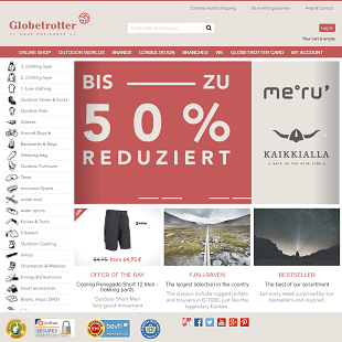 Globetrotter web review
