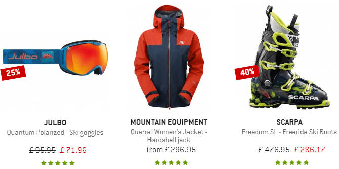 Alpinetrek.co.uk - Outdoor gear and clothing online shop