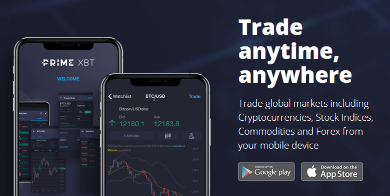 Online Crypto, CFD and Forex trading platform