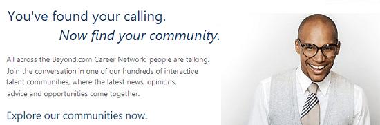 Beyond.com - online career network and job search platform