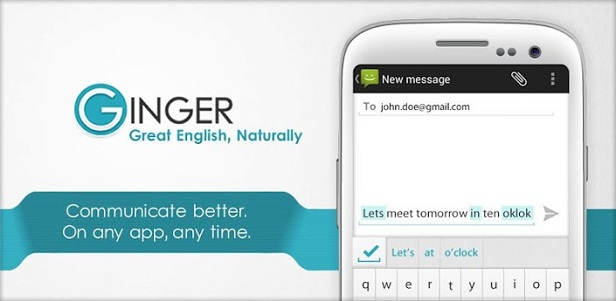 Ginger Software - Grammare and spelling checking services