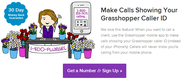 Grasshopper virtual phone system for managing your business calls