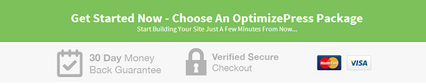 Create marketing sites, landing pages, sales pages and membership portals with Optimize Press