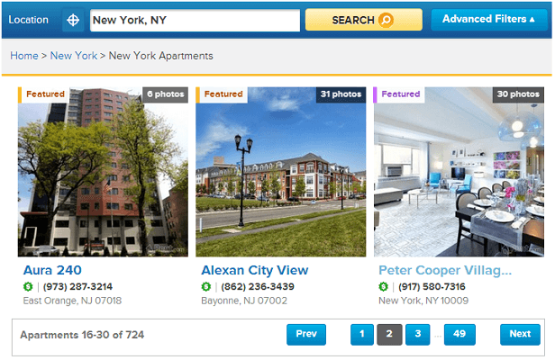 Rent.com - Apartments for Rent and apartment finder