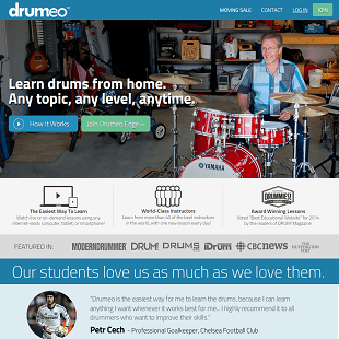 Review Of Drumeo.com