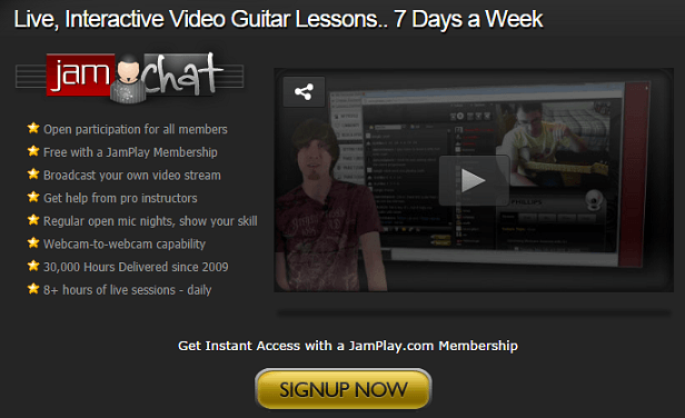 JamPlay.com - Online guitar lessons and hd videos