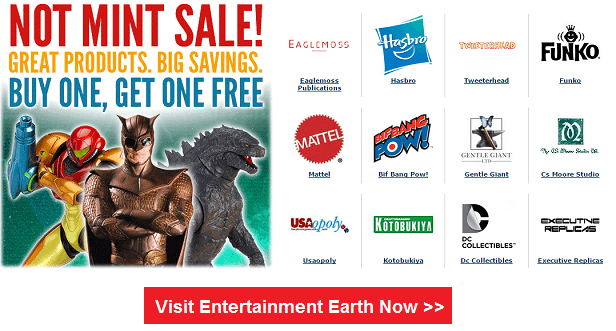EntertainmentEarth.com - Buy Action Figures, Toys, Bobble Heads and collectibles online