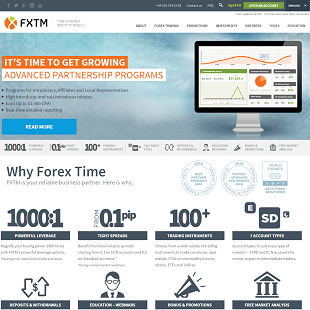Review Of ForexTime.com