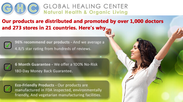 Global Healing Center - Health products and information
