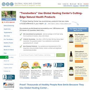 Global Healing Center Review