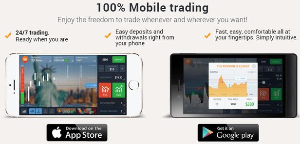 Online Binary Option Trading Platform