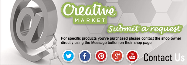 creativemarket.com - fonts,  graphics, themes and more