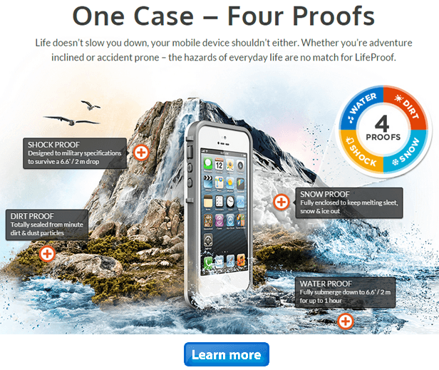 LifeProof.com - Buy high quality waterproof, dirtproof and shockproof phone cases and accessories for iPhone, Samsung galaxy and other smartphones
