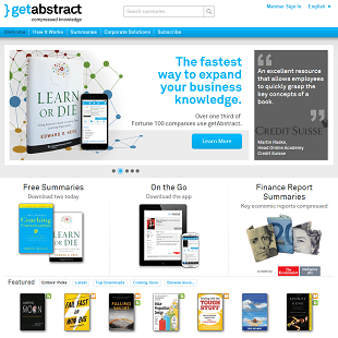 GetAbstract.com Review
