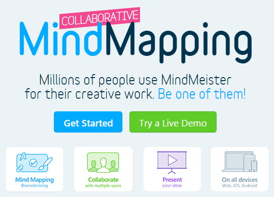 MindMeister.com -  Mind mapping software