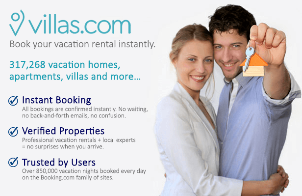 Vilas.com - Online Apartments, Vilas and Vacation Rentals